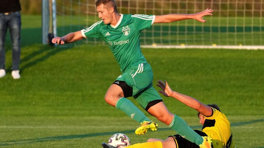 Der TSV Greding gewinnt das Süd-Derby gegen den TV Hilpoltstein