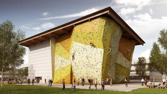 Millionen-Projekt in Nürnberg: So soll die größte Kletterhalle Frankens aussehen