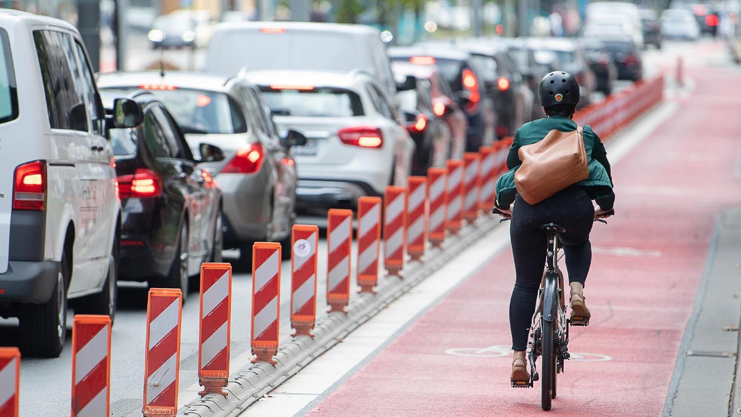 Radfahren (Symbolbild).