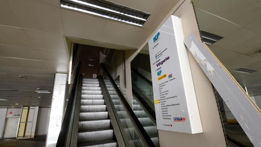 Die erste Rolltreppe in einem Pegnitzer Kaufhaus war einst eine Sensation.
