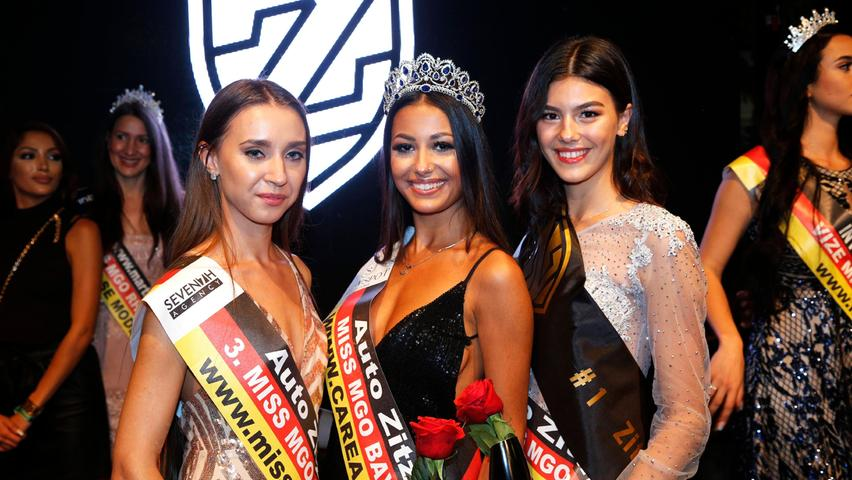 Zweite wurde die 19-jährige Anja Kisskalt (rechts) und Dritte die 25-jährige Sofia Korenko.