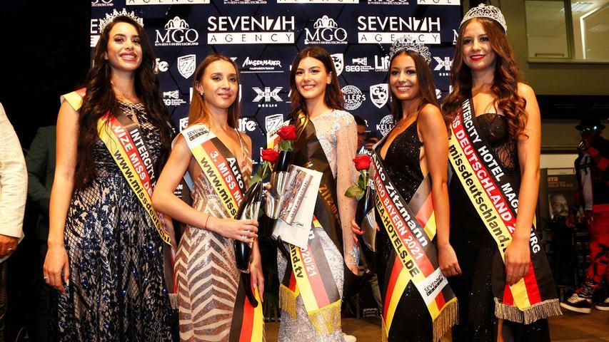 Miss Bayern 2021: Alle Outfits und Gewinnerinnen