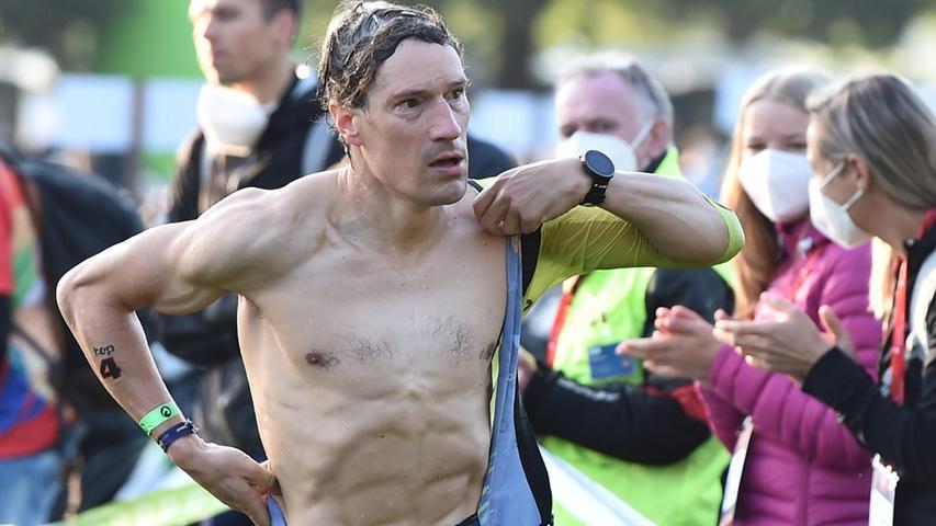 05.09.2021 ---Triathlon --- 2021 --- DATEV Challenge Roth 2021  --- Foto: Sportfoto Zink/OGo ---   Kienle Sebastian (4, hep Sportsteam )
