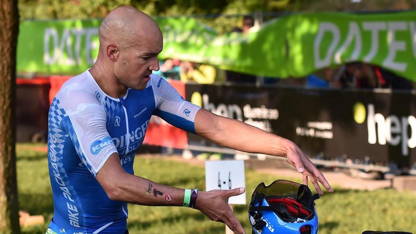 05.09.2021 ---Triathlon --- 2021 --- DATEV Challenge Roth 2021  --- Foto: Sportfoto Zink/OGo ---   Dreitz Andreas (1, Team Erdinger Alkoholfrei )