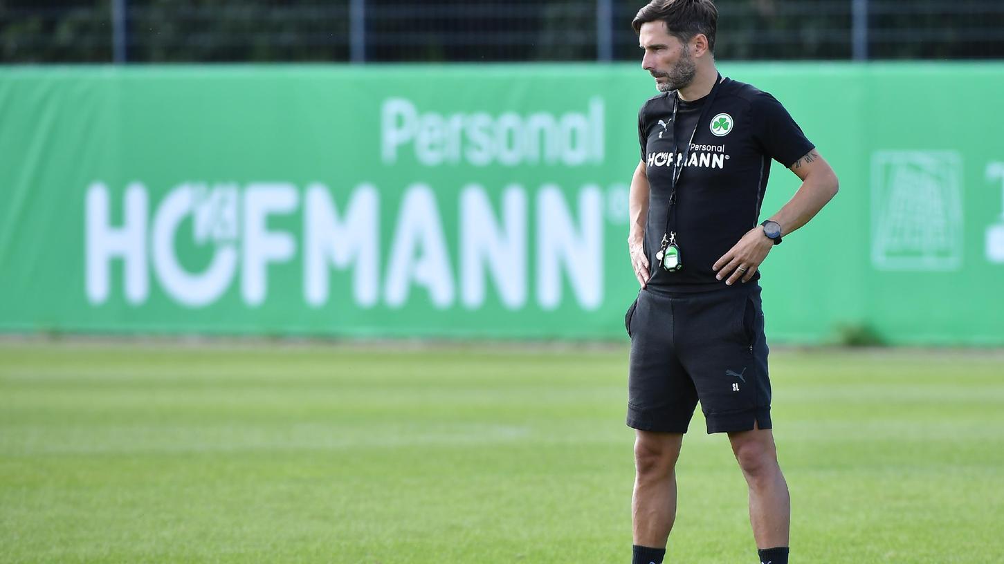 In dieser Woche will Stefan Leitl noch konzentrierter arbeiten, alle Trainingseinheiten finden unter Ausschluss der Öffentlichkeit statt.
