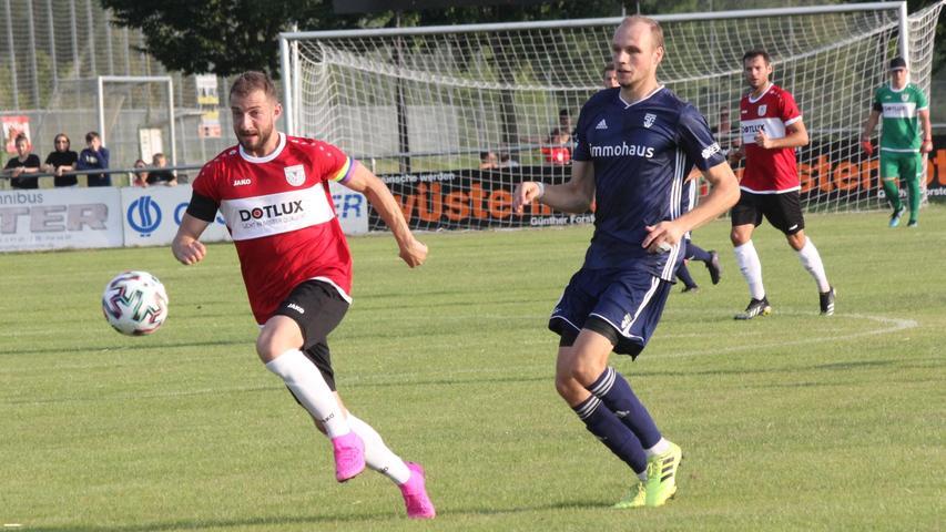 Der TSV 1860 Weißenburg holte in Fürth den ersten Punkt