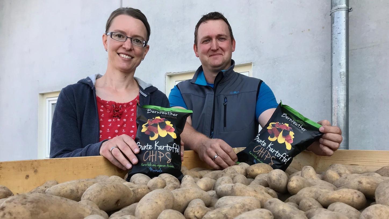 Heimat zum Knabbern: Bayern erste regionale Kartoffelchips kommen aus Franken
