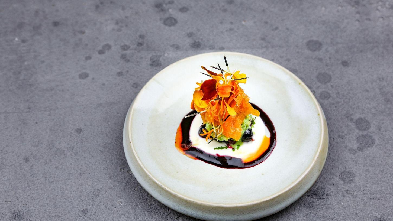 Schon mal Tagetes probiert? Die orangene Blume bekommt aktuell im neuen Restaurant