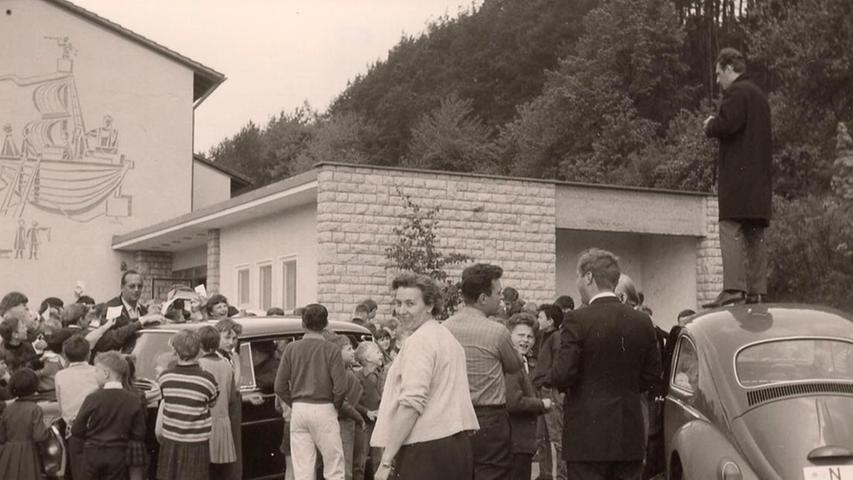 Max Merkel: Als der Club 1968 in Unterleinleiter zu weiteren Höhenflügen ansetzen wollte