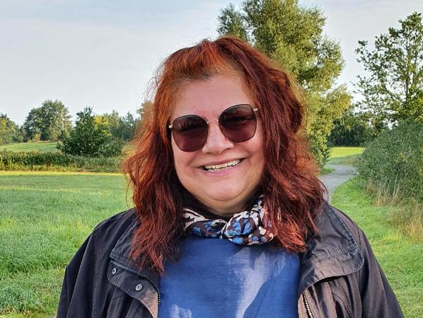 Annette Hagius sitzt normalerweise in Bonn beim BfN.