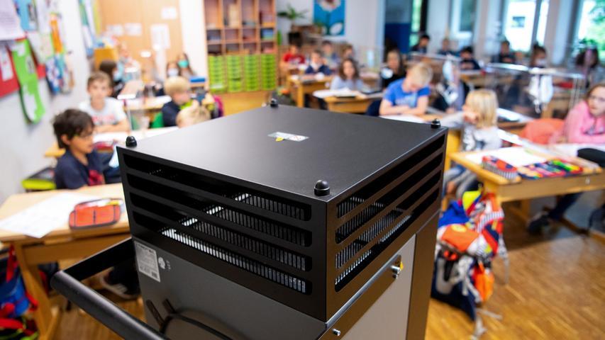 Bayern: Zwei Drittel der Klassenzimmer ohne Luftfilter