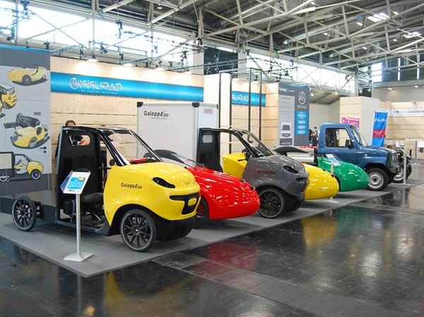 Pedelec als Kleinwagen: Mit diesen Modellen will Akkurad auf den Markt kommen.