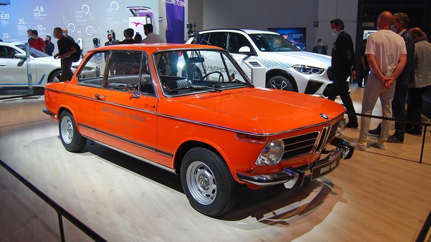 Das war einmal in München: Schon 1972 fuhr dieser BMW 1602e mit Elektroantrieb.
