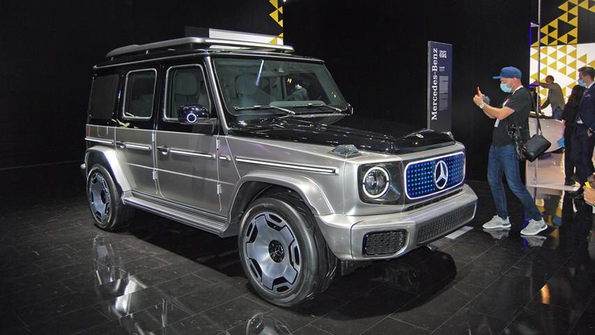 Auch für die Mercedes G-Klasse soll es eine elektrische Zukunft geben.