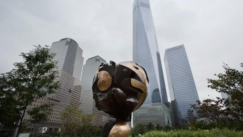 Heute findet sich die Bronze-Skulptur