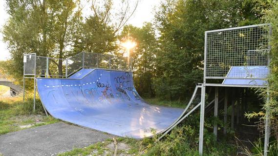 Die Skater-Anlage beim SV Postbauer wird aufpoliert