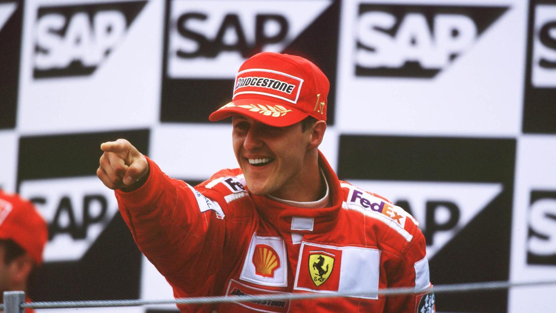 Schrieb im Ferrari Formel-1-Geschichte: Michael Schumacher.