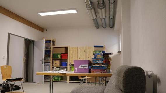 Der neue Multifunktionsraum, der vor allem als Aufenthaltsraum von der Jugend genutzt werden soll.