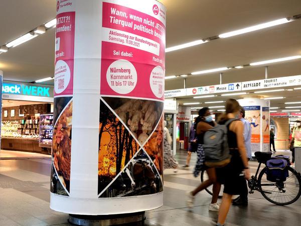 """""""Wann, wenn nicht jetzt?"""": Einladung zum Aktionstag am Samstag im Zwischengeschoss am Nürnberger Hauptbahnhof."""