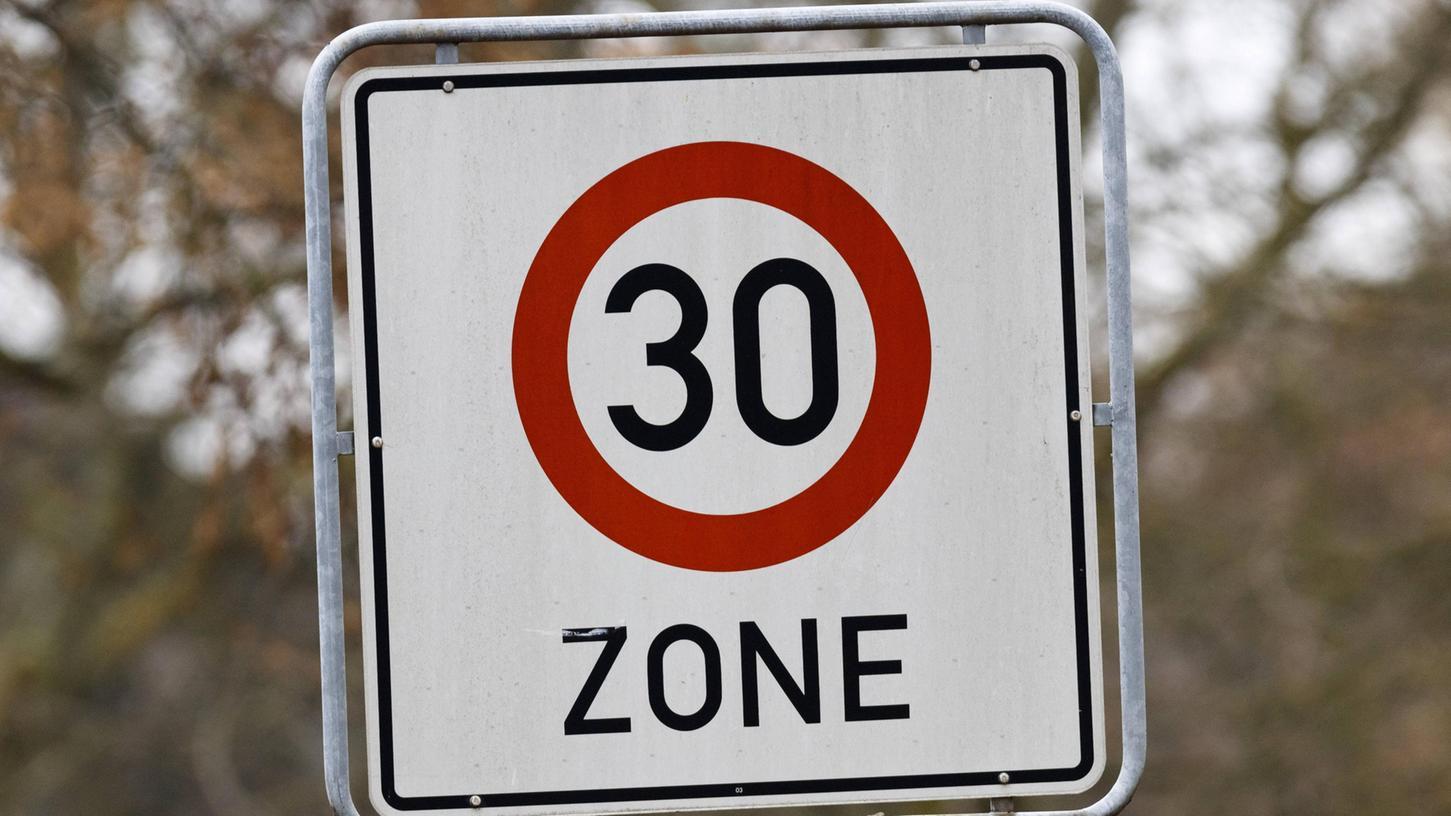 Tempo 30 (Symbolbild).