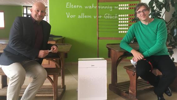 Luftreiniger für Schulen und Kitas: Eggolsheim ist voll ausgestattet