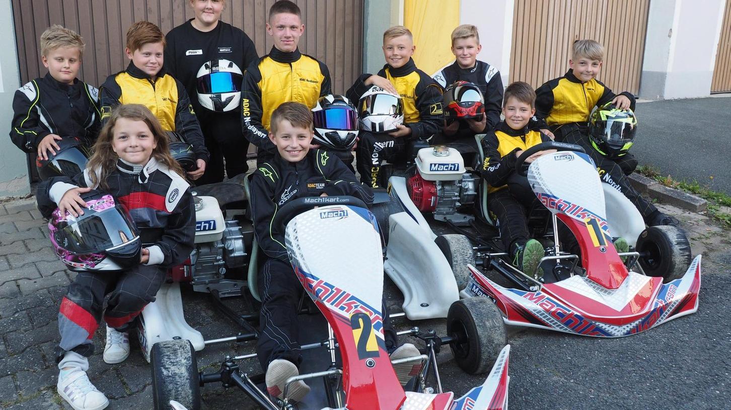 Die jungen Kartfahrer des MSC Auerbach haben am Sonntag die Bayerische Meisterschaft vor sich. So viele Fahrer des Auerbacher Klubs haben sich noch nie dafür qualifiziert.
