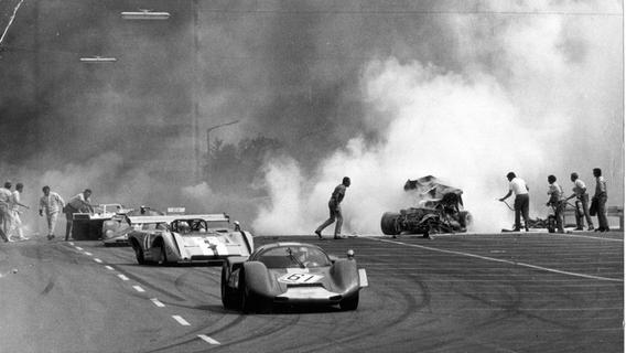 Die schwärzeste Stunde des Norisrings: Vor 50 Jahren verunglückte ein Fahrer tödlich