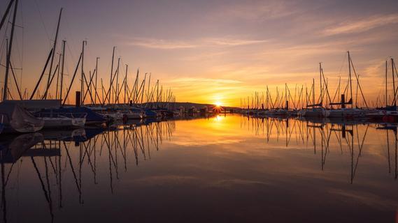 Der Brombachsee ist der drittschönste See in Bayern