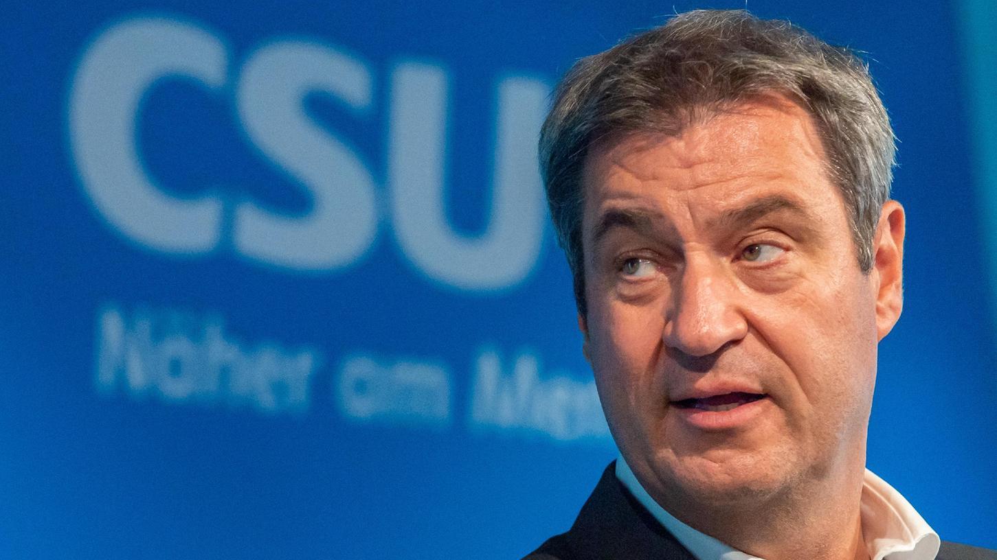 Markus Söder bleibt Vorsitzender der CSU. Beim Parteitag in Nürnberg wurde er von den Delegierten wieder gewählt.