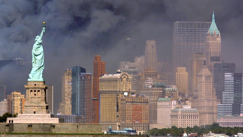 Das Bild des Neumarkter Fotografen Hubert Bösl vomEinsturz der Türme des World Trade Centers ging um die Welt.