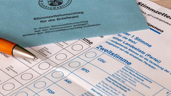 Schwabach: Schon 13000 Briefwähler