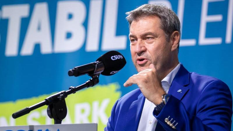 CSU-Parteitag in Nürnberg: Scheitert Söder an der 90er Marke?