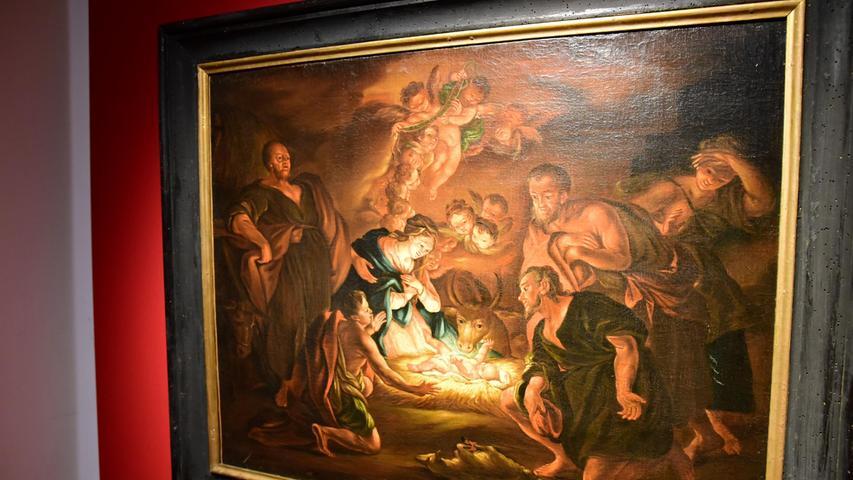 Noch ein Exponat: Das Gemälde