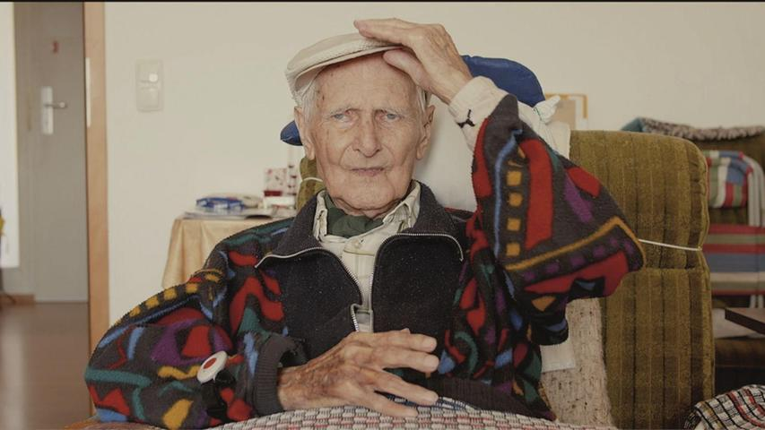 Der inzwischen verstorbene Georg Müller, sprach mit über 100 Jahren von seinen Kriegserlebnissen. Zu sehen und zu hören in Markus Dörnbergers Dokumentation.