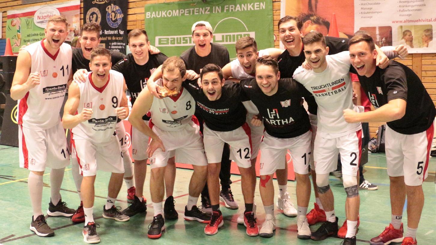 Die Treuchtlinger Basketball-Mannschaft freut sich riesig, wenn sie endlich wieder vor Zuschauern spielen darf.