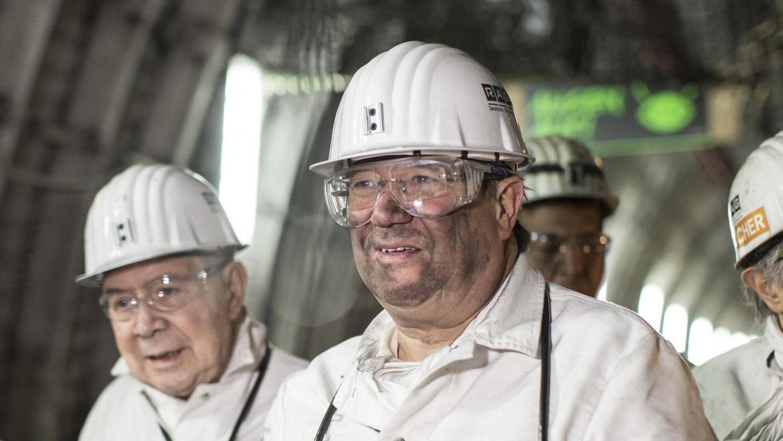 Rußverschmiert im stillgelegten Kohleschacht: Hat Armin Laschet dort gearbeitet?
