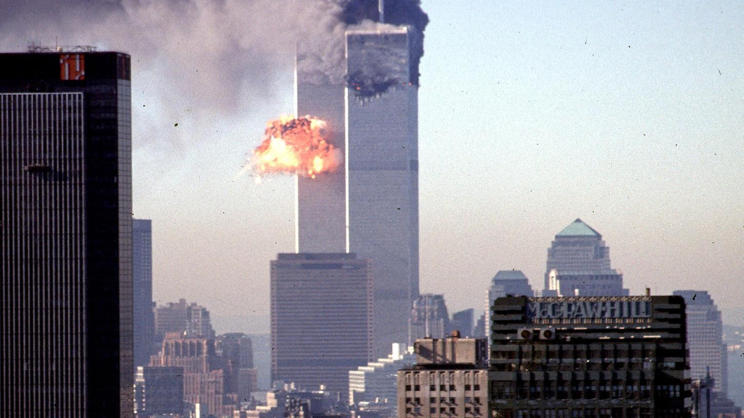 Ein Bild, das sich eingeprägt hat: Am 11. September 2001 steuerten Terroristen Flugzeuge auf das World Trade Center in New York.