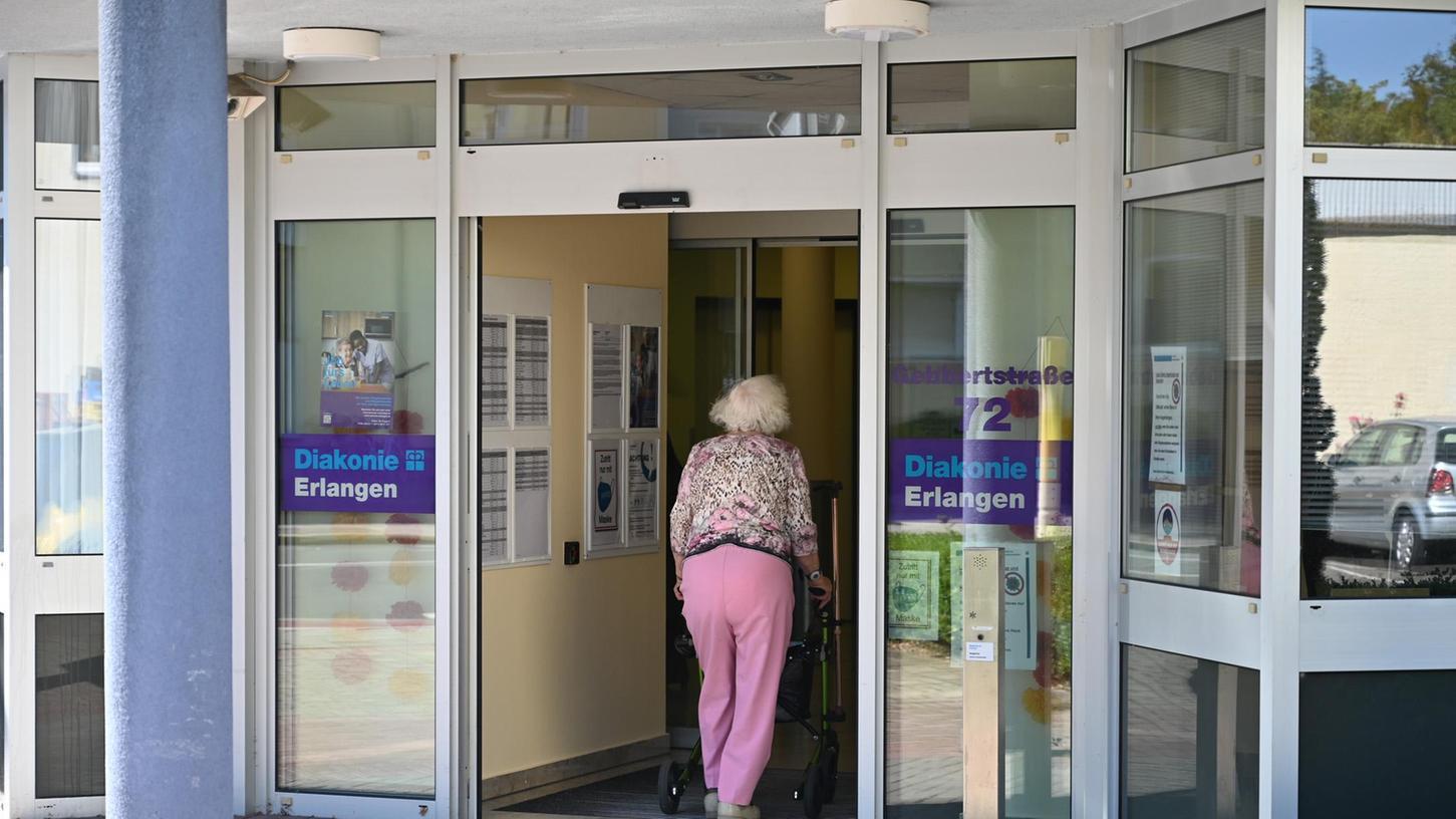 Neben den Wohnungen des Betreuten Wohnens sind auch die Pflegeappartements im Seniorenheim gekündigt.