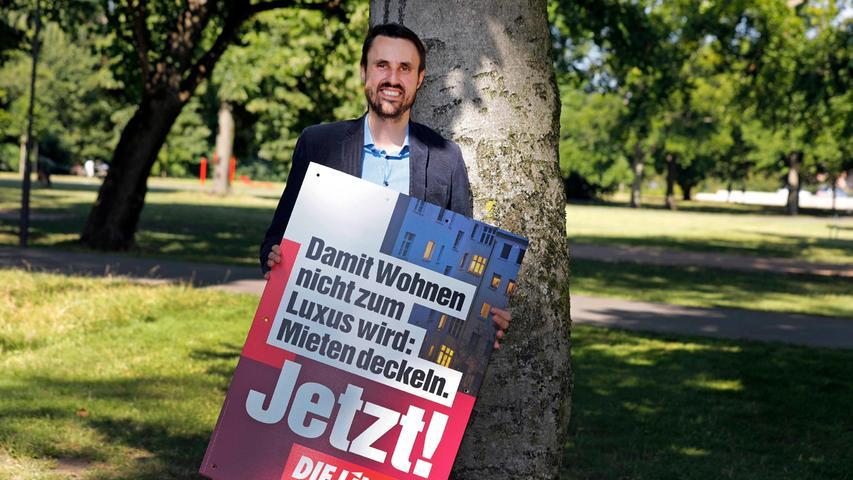 Nürnberger Linken-Kandidat erstattet Anzeige wegen Verleumdung