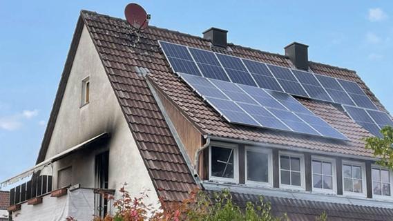 Baiersdorfer Familie verliert bei Brand in Einfamilienhaus alles