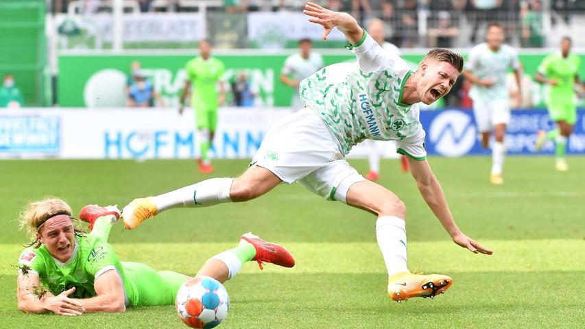 Weghorst macht für Wolfsburg den Deckel drauf: Der Kleeblatt-Live-Ticker zum Nachleiden