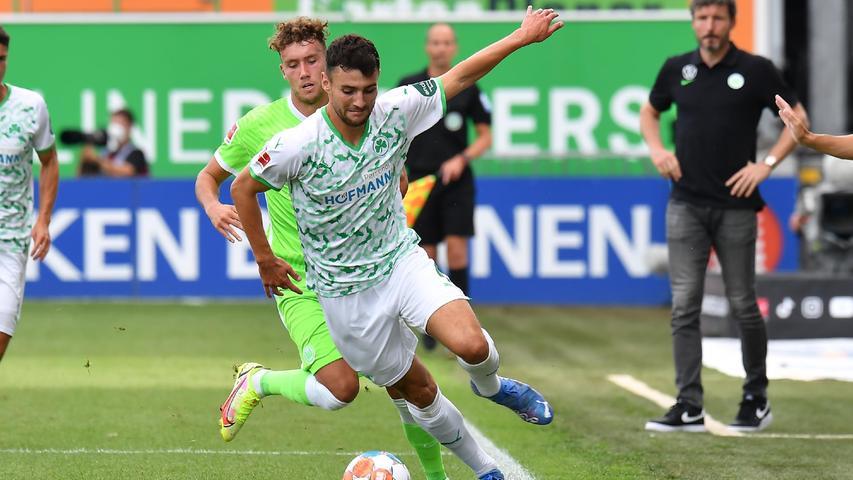 Einzelkritiken: Fürth unterliegt Wolfsburg mit 0:2 - Geben Sie den Kleeblatt-Kickern Noten