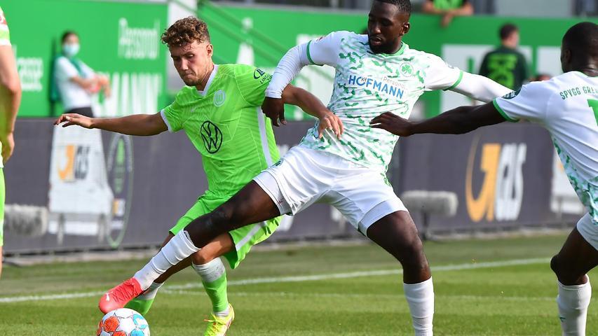 Vierter Versuch misslingt: Das Kleeblatt unterliegt auch Champions-League-Teilnehmer Wolfsburg