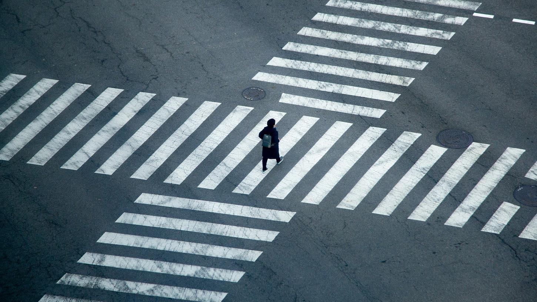 Fußgänger haben am Zebrastreifen strikt Vorrang. Allerdings wird das nicht immer respektiert.
