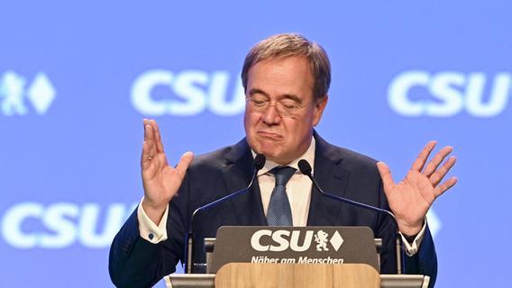 Keine staatlich verordnete Spritpreisbremse: Laschet stellt sich gegen Scheuer
