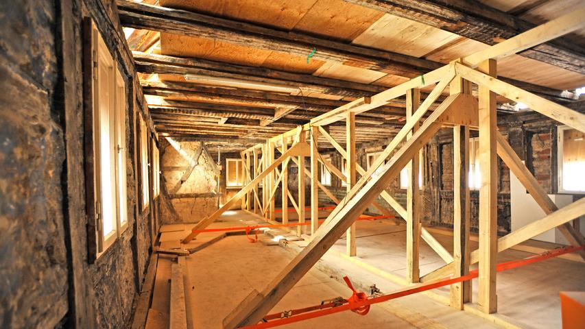 Die Bauarbeiten werden mindestens noch drei Jahre lang dauern.