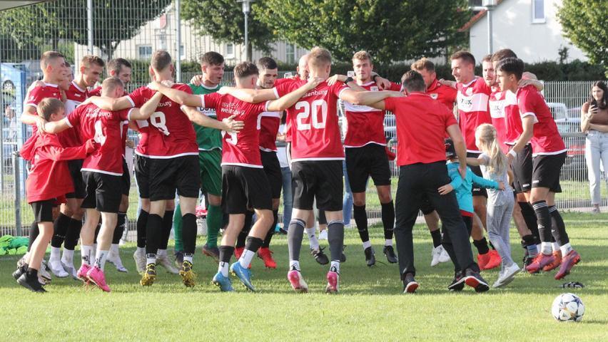 Heiß ersehnter erster Sieg für den TSV 1860 Weißenburg - hier gibt's die Bilder