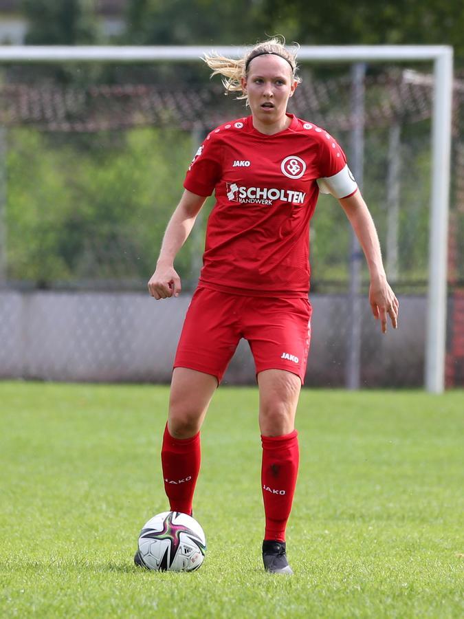 Will als erfahrene Spielerin vorangehen: Spieli-KapitäninKatharina Vornehm.