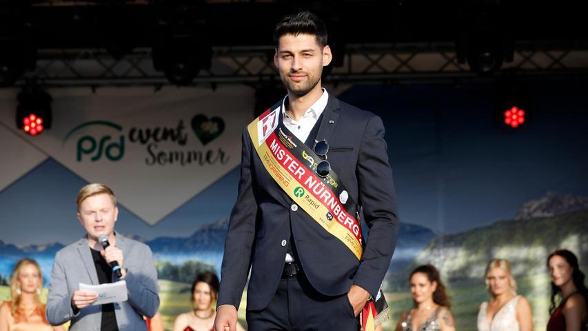 Osman Umur (28), strahlender Sieger des Wettbewerbs und nun für ein Jahr Mister Nürnberg.