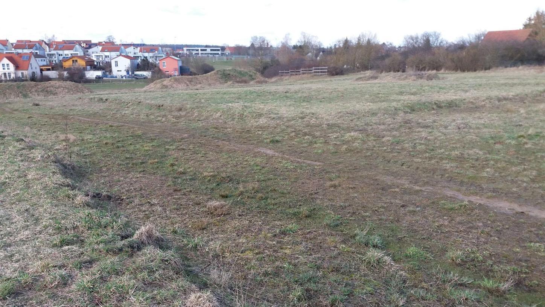 In diesem Bereich wird im kommenden Jahr das neue Baugebiet Am Dillinghof entstehen. Die Baustellenzufahrt wird über den Uigenauer Weg erfolgen.